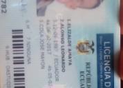 Licencia extraviada huaquillas