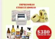 Impresoras para etiquetas para su negocio o tienda