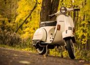 Vendo moto vespa piaggio p200e año 82 leer..!