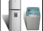 Mantenimiento de lavadoras secadoras calefones