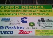 Venta de repuestos a diesel deutz mwm
