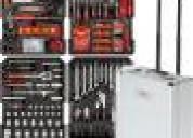 Caja de herramientas de 226 piezas marca wurtember