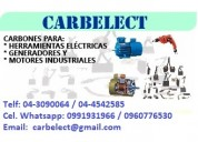 Escobillas de carbon - carbelect