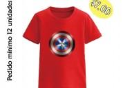 Camisetas personalizadas por mayor