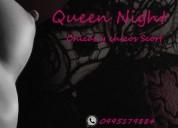 Quee night con las mejores chicas extranjeras