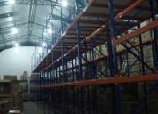 Venta de perchas metalicas para carga pesada