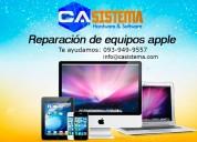 Reparación de equipos apple