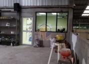 Vendo galpon con maquinaria para negocio de zapateria 2949 m2