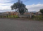 Jr terreno sur de quito 1 cuadra de la pana sur negociable 2100 m2