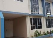 Se alquila casa amoblada cerca de iess al norte de portoviejo 3 dormitorios 120 m2