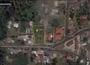 Vendo hermoso terreno de 1 890 m2 en san juan bajo sector cumbaya en quito