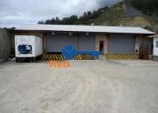 Nave oficinas de renta 4500 o venta 500 000 capulispamba 1710 m2