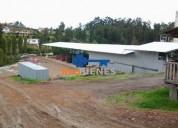 Venta terreno 5512 m2 con nave 900 m2 450 000 ayancay en azogues