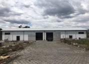 Alquiler de galpon industrial mediano impacto via amaguana 10000 m2