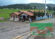 Se vende lote de terreno con locales comerciales en pingulmi 2244 m2
