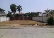 Terreno residencial en venta en samborondon tennis club 890 m2