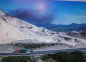 Vendo mina de material petreo cerca de aloag 50000 m2