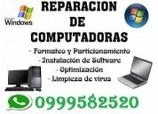 servicio técnico, mantenimiento y reparación de pc a domicilio