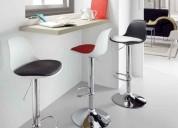 sillas taburetes hidráulicos moderno relax tulip