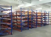 Venta de perchas estanterias racks para bodegas