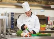 Requisito urgente de cocinero privado