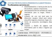 DiseÑo, mantenimiento, instalaciÓn de dispositivos