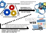 Desarrollo e implementación de software