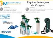 alquiler de tanques de oxigeno