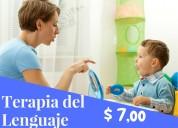Terapia del lenguaje  $ 7,oo  valle de los chillos