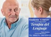 Terapia del lenguaje para adultos   $ 7,oo