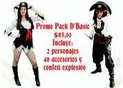 Hora loca promo pack d'basic $85,00 con accesorios