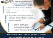 Analista contable - graduado