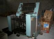 Venta de impresora offset  roland praktika