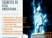 Asesoría en trámite de visa americana