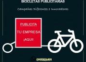 Bicicletas publicitarias - campañas móviles