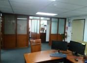 Rento oficina de 80m2 sector comercial quito