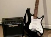 Venta guitarra eléctrica behringer con amplificado