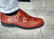 zapatos monkstrap con hebillas