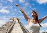 Agencia de viajes mayorista ofrece sus servicios