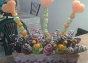 Frutos y chocolates