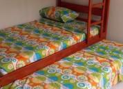 Excelente cabañas oasis en la playa san pablo 1 dormitorios