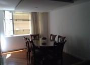 Departamento 120 m piso 7 amoblado de renta alquiler 3 dormitorios