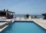 alquiler excelente casa frente al mar 4 dormitorios