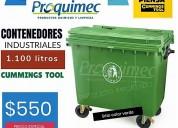 Oferta de tachos de basura industriales 1100 lts
