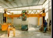 Maquinas para la industria de granitos, marmoles y