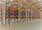 estanteria para carga pesada y liviana