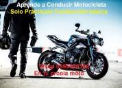 Aprende a conducir motocicleta con tu propia moto