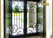 Puertas metálicas diseños para tu hogar