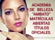 """Academia de belleza """"ambato"""""""