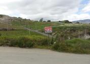Vendo lote: urbanizacion mirador del valle